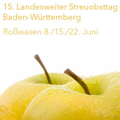 15. Streuobsttag Baden-Württemberg 2021 - BUND Rottweil