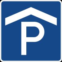 Bild Parkhaus Schild